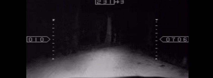 FPV sobre  un coche de radio control por la noche