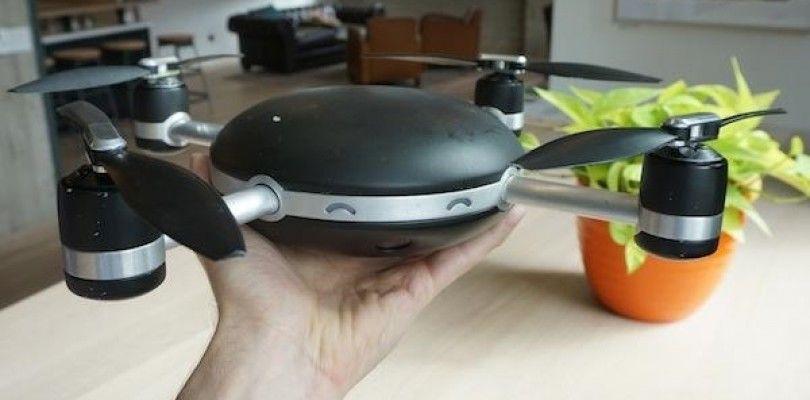 Lily robot, el dron que te sigue y graba tu vida