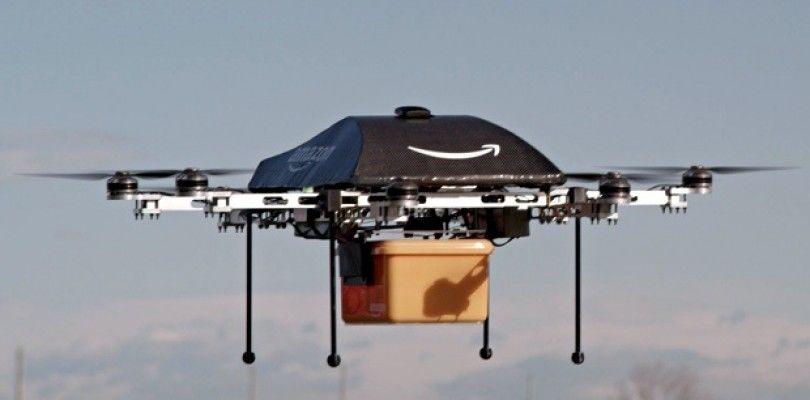 Amazon presiona a los gobiernos americanos para la entrega con drones