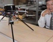 Un multicóptero de 12 hélices revisará el reactor número 1 de Fukushima