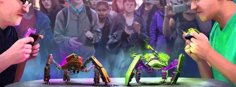 Reach Robotics crea robots juguete pensados para luchar