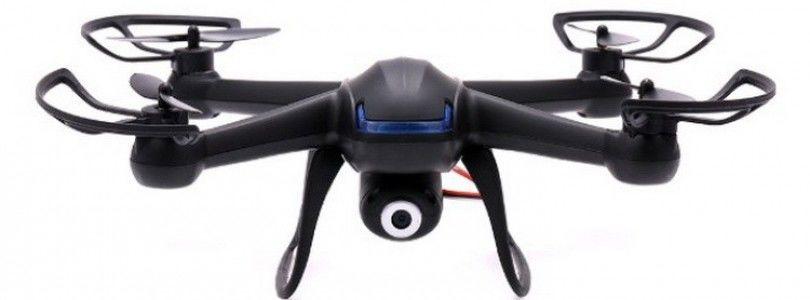 DM007, un cuadrimotor con cámara HD, modo headless y acrobático por menos de 60€