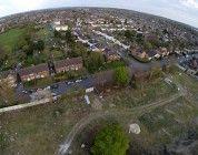 Obreros sorprendidos por un dron cuando trabajaban sin licencia de obra