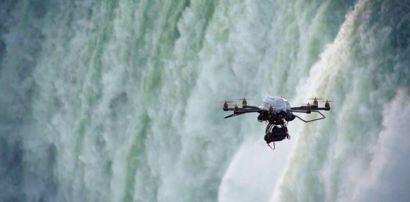 Un dron obliga a un aterrizaje de emergencia en un aeropuerto cercano a las cataratas del Niágara