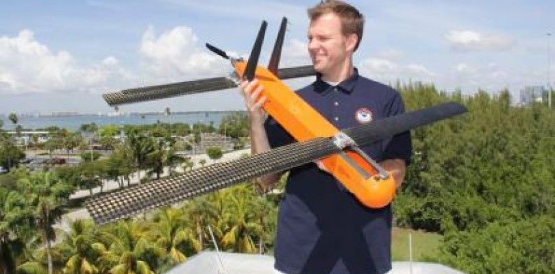 El dron que puede avisarnos de los huracanes para salvar vidas
