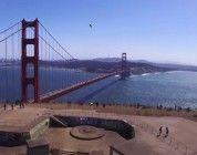 San Francisco en dron, aunque, infringiendo la ley