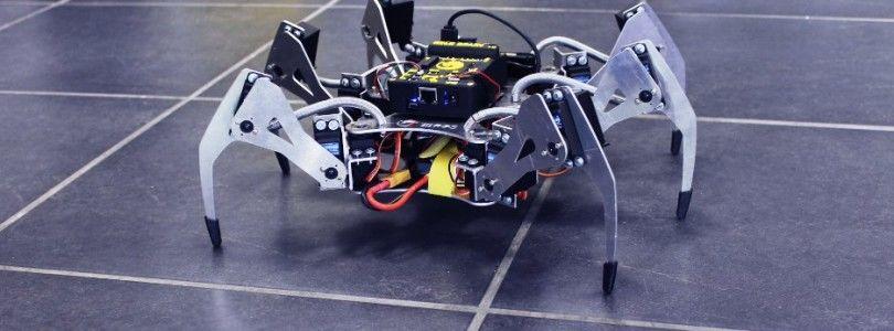Erle-Spider, un robot araña potenciado con Ubuntu y ROS