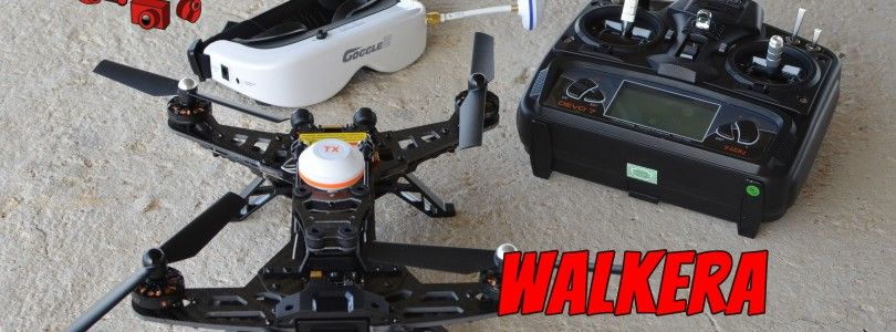 Unboxing del Walkera Runner 250
