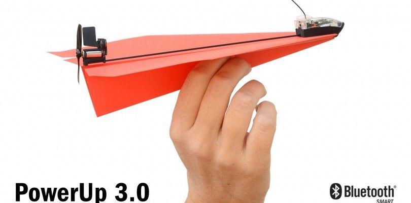 PowerUp 3.0, convierte un avión de papel en un dron controlado con tu smartphone