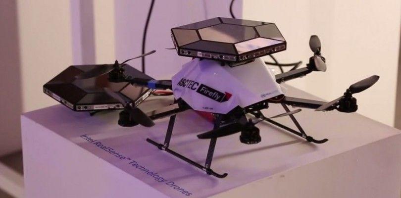 Intel trabaja en un dron con visión 3D gracias a RealSense