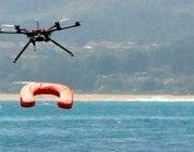 Rescates en playas con ayuda de drones