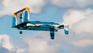 dron prime air volando