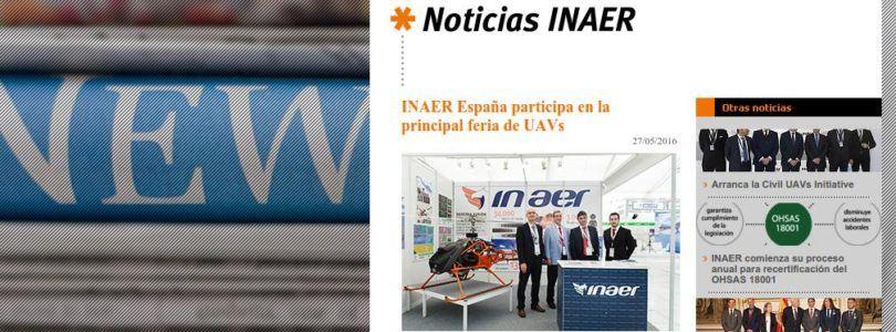 INAER será el primer operador europeo en usar drones contra los incendios