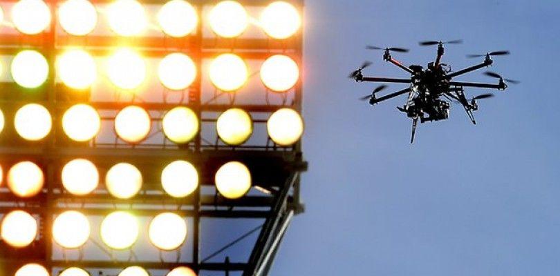 La FAA investiga la legalidad del uso de los drones en la NFL