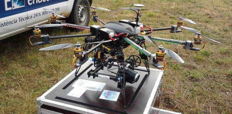 Endesa incorpora un dron en Baleares para la revisión de sus instalaciones