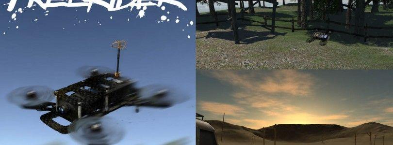 FPV FreeRider, pilota un dron de carreras en tu smartphone
