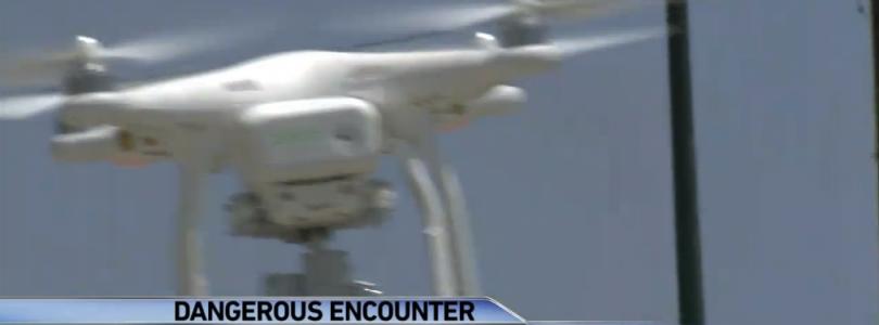 Drones cerca de los aeropuertos, ¿son tan sencillos de ver desde un avión?