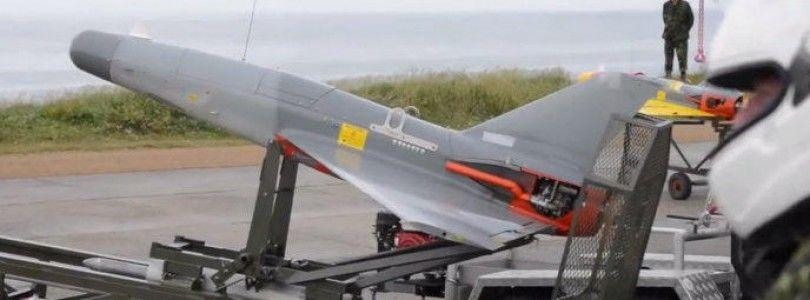 Vídeo de un F-16 derribando un dron