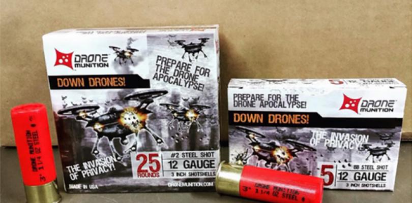 Venden balas para derribar drones, finalmente, la gente ha perdido la cabeza