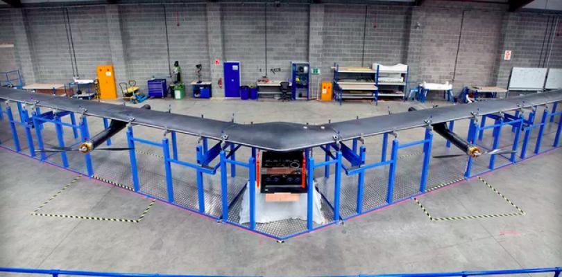 Facebook muestra sus drones con los que darán acceso a internet