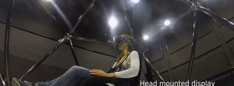 Simulador CableRobot, una impresionante estructura para la realidad virtual