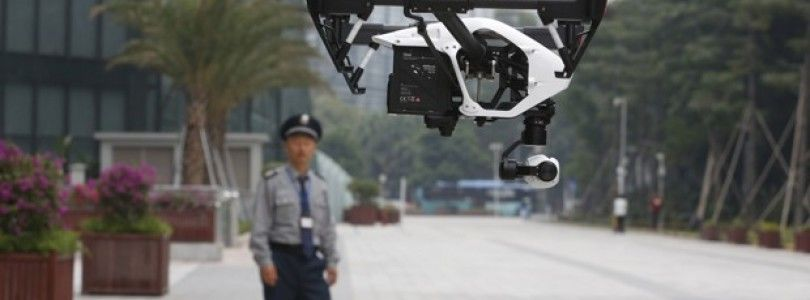 Crece la demanda de pilotos de drones en China