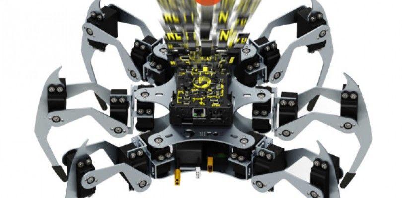 Erle-Spider, la araña con Ubuntu, busca la financiación en Indiegogo