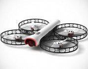 Snap, un dron plegable y seguro para la filmación aérea