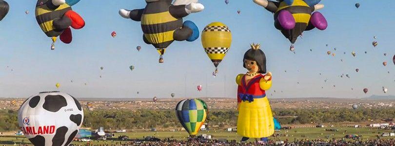 """Las autoridades vigilarán la """"Balloon Fiesta"""" para evitar drones en el evento"""