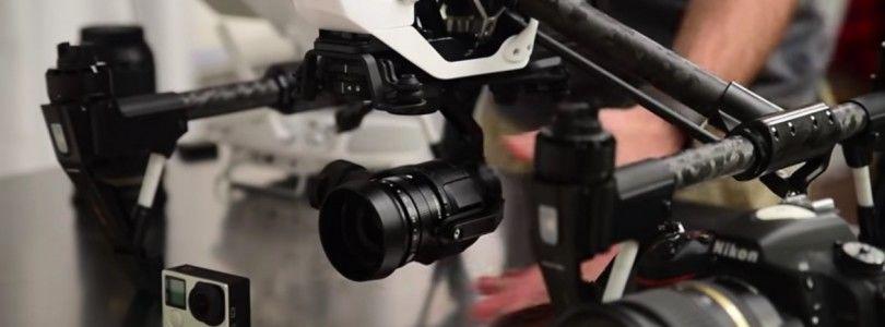 Comparativa de la ISO de DJI Zenmuse X5 vs GoPro vs Nikon D750