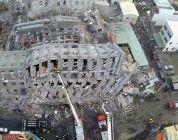Dron capta imágenes terremoto Taiwán