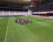 El equipo de rugby WP Rugby usa drones para conseguir ángulos imposibles